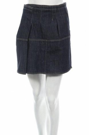 Пола Adolfo Dominguez, Размер L, Цвят Син, 99% памук, 1% еластан, Цена 10,75лв.