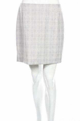 Φούστα H&M, Μέγεθος M, Χρώμα Γκρί, 72% πολυεστέρας, 26% βισκόζη, 2% ελαστάνη, Τιμή 3,58€