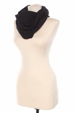 Eșarfă Simple, Culoare Negru, Bumbac, Preț 53,29 Lei