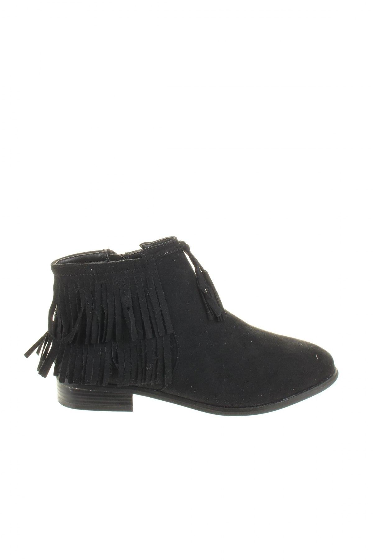 Дамски обувки Initiale Paris, Размер 38, Цвят Черен, Текстил, Цена 44,85лв.