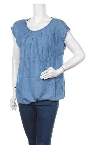 Блуза за бременни Esprit, Размер L, Цвят Син, Лиосел, Цена 51,75лв.