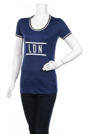 Μπλούζα εγκυμοσύνης Supermom, Μέγεθος S, Χρώμα Μπλέ, Βισκόζη, Τιμή 10,10€