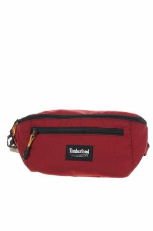 Чанта за кръст Timberland, Цвят Червен, Текстил, Цена 49,02лв.
