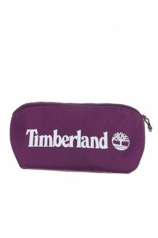 Чанта за кръст Timberland, Цвят Лилав, Текстил, Цена 42,57лв.