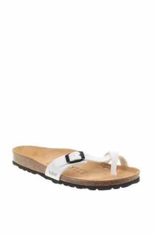 Γυναικείες παντόφλες Blue Bay, Μέγεθος 39, Χρώμα Λευκό, Δερματίνη, Τιμή 28,37€