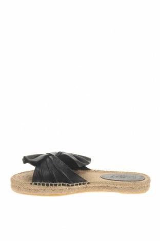 Чехли Blue Bay, Размер 40, Цвят Черен, Естествена кожа, Цена 55,65лв.