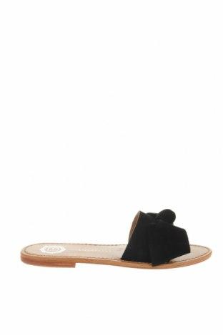 Pantofle Les Bagatelles, Velikost 39, Barva Černá, Přírodní velur , Cena  417,00Kč