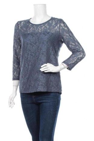 Дамска блуза, Размер L, Цвят Син, 90% полиамид, 10% еластан, Цена 13,86лв.