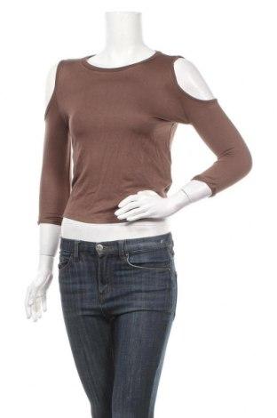 Γυναικεία μπλούζα Alcott, Μέγεθος S, Χρώμα Καφέ, 95% βισκόζη, 5% ελαστάνη, Τιμή 14,69€