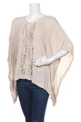 Γυναικεία μπλούζα BCBG Max Azria, Μέγεθος M, Χρώμα  Μπέζ, Βισκόζη, Τιμή 7,90€