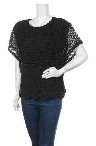 Дамска блуза BelAir, Размер S, Цвят Черен, Памук, Цена 17,16лв.