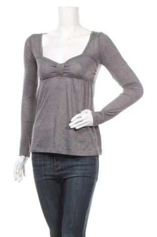 Дамска блуза Bluenotes, Размер M, Цвят Сив, 60% памук, 40% полиестер, Цена 4,64лв.
