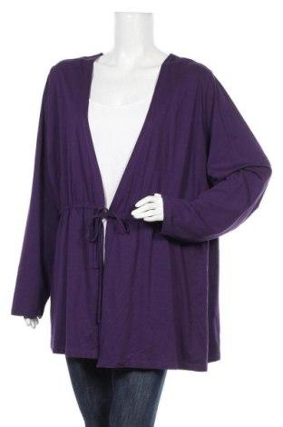 Дамска блуза Canda, Размер 3XL, Цвят Лилав, Цена 13,80лв.