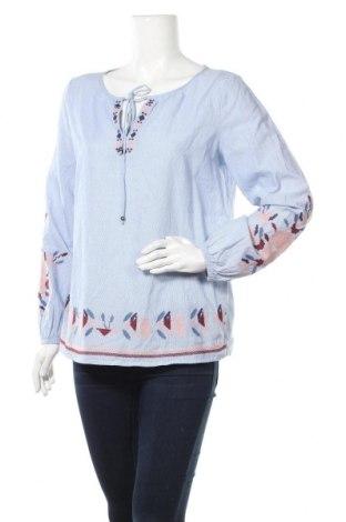 Γυναικεία μπλούζα Edc By Esprit, Μέγεθος S, Χρώμα Μπλέ, Βαμβάκι, Τιμή 12,34€