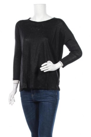 Дамска блуза Eleven Paris, Размер M, Цвят Черен, 100% лен, Цена 33,97лв.