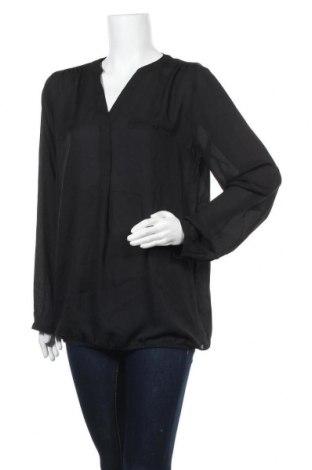 Дамска блуза Esprit, Размер M, Цвят Черен, Полиестер, Цена 59,25лв.