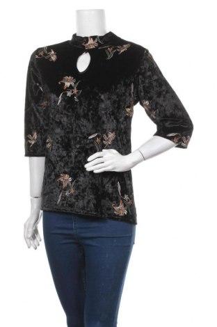 Γυναικεία μπλούζα Floyd By Smith, Μέγεθος L, Χρώμα Μαύρο, 95% πολυεστέρας, 5% ελαστάνη, Τιμή 10,52€