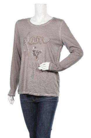 Дамска блуза G.W., Размер L, Цвят Сив, Цена 7,73лв.