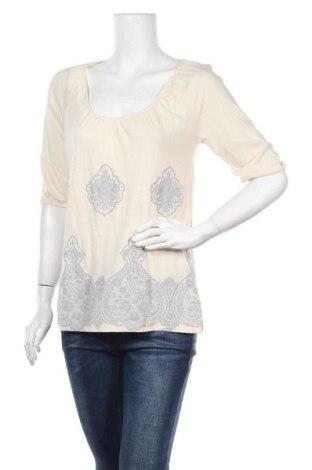 Дамска блуза Gloria Vanderbilt, Размер S, Цвят Бежов, 60% памук, 40% модал, Цена 4,99лв.