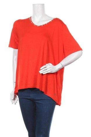 Дамска блуза Guido Maria Kretschmer, Размер XL, Цвят Червен, 95% вискоза, 5% еластан, Цена 40,05лв.