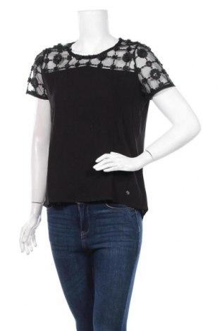 Дамска блуза Guido Maria Kretschmer, Размер S, Цвят Черен, Вискоза, Цена 40,05лв.