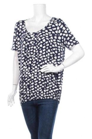 Дамска блуза Guido Maria Kretschmer, Размер L, Цвят Син, 96% вискоза, 4% еластан, Цена 35,55лв.