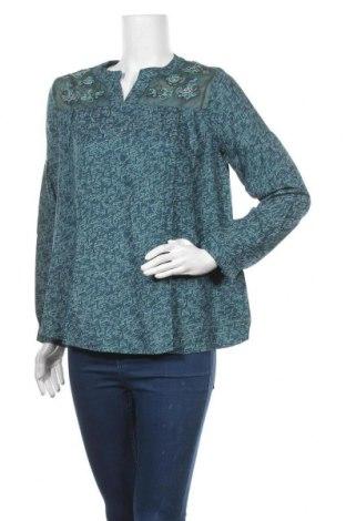 Дамска блуза La Fiancee Du Mekong, Размер M, Цвят Син, Вискоза, Цена 17,25лв.
