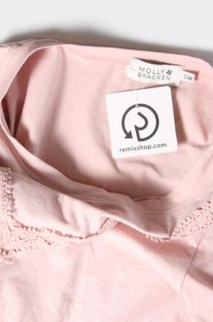 Γυναικεία μπλούζα Molly Bracken, Μέγεθος M, Χρώμα Ρόζ , 95% βαμβάκι, 5% ελαστάνη, Τιμή 11,34€