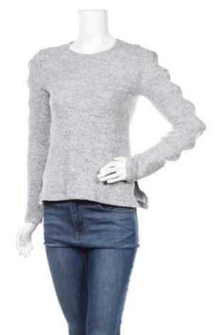 Дамска блуза New Laviva, Размер M, Цвят Сив, 40% полиестер, 30% полиамид, 30% еластан, Цена 12,25лв.