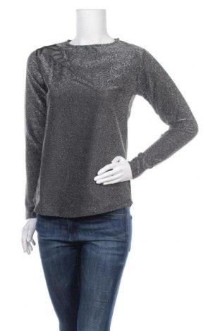 Дамска блуза New Laviva, Размер M, Цвят Сребрист, Цена 12,25лв.