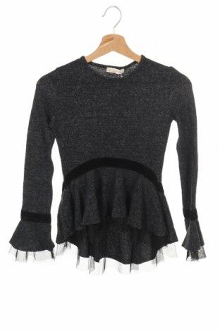 Дамска блуза New Laviva, Размер XXS, Цвят Сив, 40% полиестер, 30% вълна, 30% еластан, Цена 10,50лв.