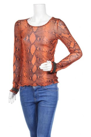 Γυναικεία μπλούζα Numph, Μέγεθος S, Χρώμα Πορτοκαλί, Πολυεστέρας, Τιμή 9,72€