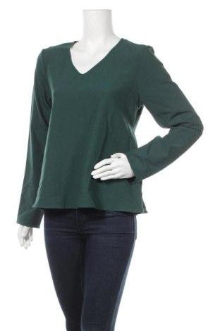 Γυναικεία μπλούζα Pieces, Μέγεθος M, Χρώμα Πράσινο, 79% πολυεστέρας, 16% βισκόζη, 5% ελαστάνη, Τιμή 12,63€