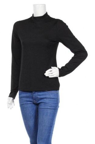 Дамска блуза Pieces, Размер L, Цвят Черен, Цена 10,92лв.