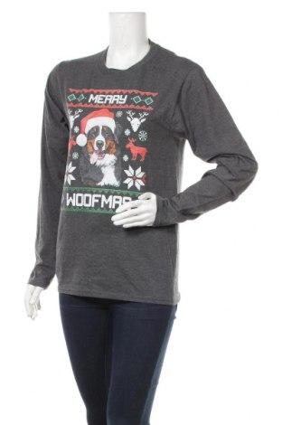 Γυναικεία μπλούζα Port & Company, Μέγεθος S, Χρώμα Γκρί, 50% βαμβάκι, 50% πολυεστέρας, Τιμή 3,75€