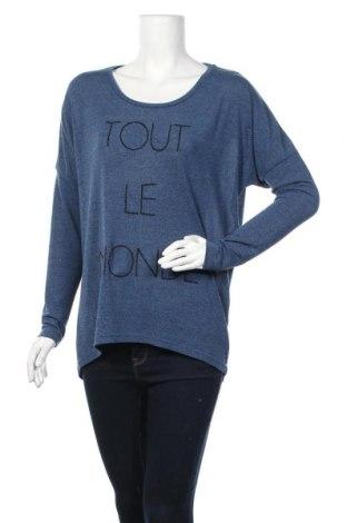 Γυναικεία μπλούζα Soya Concept, Μέγεθος M, Χρώμα Μπλέ, 95% πολυεστέρας, 5% ελαστάνη, Τιμή 11,11€