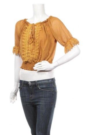 Γυναικεία μπλούζα Star by S...*, Μέγεθος S, Χρώμα Κίτρινο, 95% πολυεστέρας, 5% ελαστάνη, Τιμή 7,61€