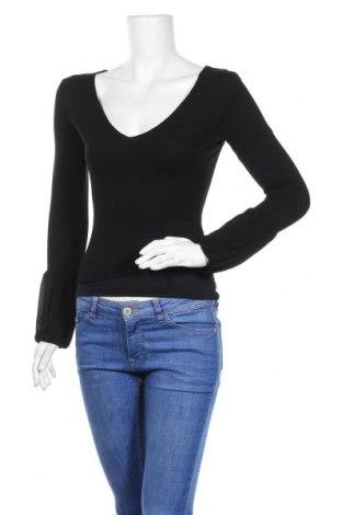 Γυναικεία μπλούζα Stefanel, Μέγεθος S, Χρώμα Μαύρο, Πολυεστέρας, Τιμή 10,58€