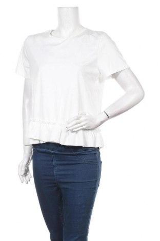 Γυναικεία μπλούζα TINA, Μέγεθος L, Χρώμα Λευκό, 65% πολυεστέρας, 30% βαμβάκι, 5% ελαστάνη, Τιμή 6,60€