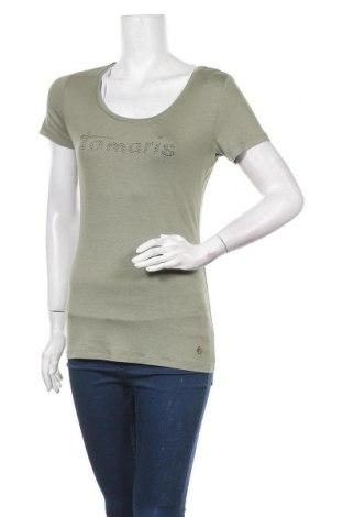 Дамска блуза Tamaris, Размер S, Цвят Зелен, Цена 9,92лв.