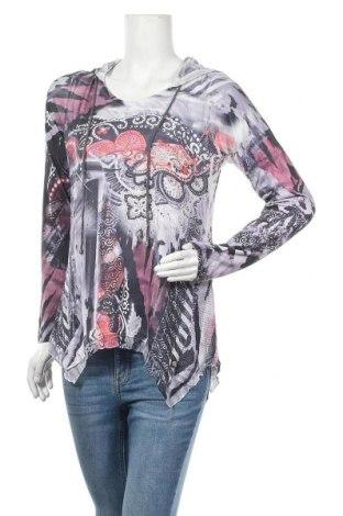 Дамска блуза Tredy, Размер M, Цвят Многоцветен, Полиестер, Цена 7,88лв.