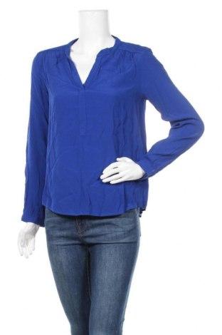 Дамска блуза Zapa, Размер S, Цвят Син, Вискоза, Цена 50,70лв.