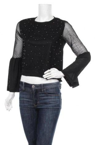 Дамска блуза Zibi London, Размер L, Цвят Черен, Полиестер, Цена 13,72лв.