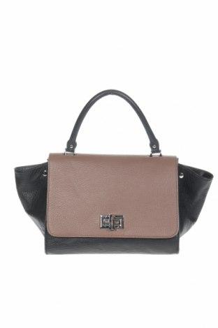 Γυναικεία τσάντα, Χρώμα Μαύρο, Γνήσιο δέρμα, Τιμή 41,95€