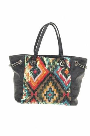 Дамска чанта, Цвят Сив, Еко кожа, Цена 22,68лв.