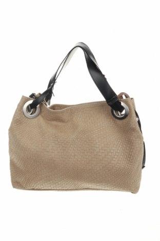 Дамска чанта, Цвят Бежов, Естествена кожа, Цена 91,50лв.