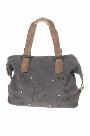 Дамска чанта, Цвят Сив, Еко кожа, Цена 25,20лв.