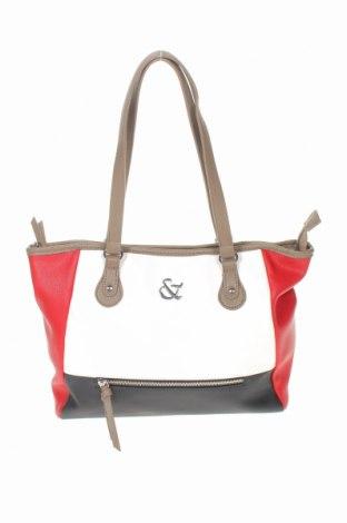 Дамска чанта, Цвят Многоцветен, Еко кожа, Цена 27,41лв.