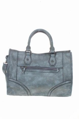 Дамска чанта, Цвят Сив, Еко кожа, Цена 27,93лв.