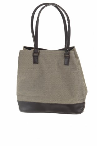 Дамска чанта, Цвят Бежов, Текстил, еко кожа, Цена 24,15лв.